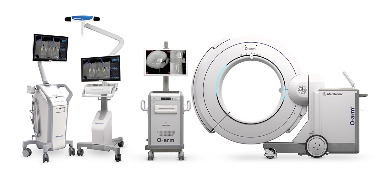 O-arm Surgical Imaging System working with StealthStation Navigation System